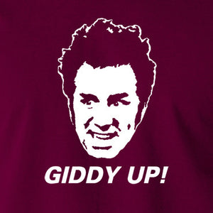 Seinfeld - Cosmo Kramer Giddy Up - Men's T Shirt
