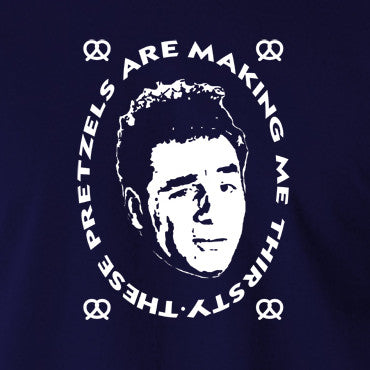 Seinfeld - Kramer, These Pretzels Are Making Me Thirsty - Men's T Shirt
