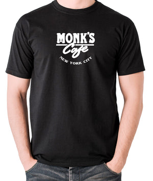Seinfeld - Monk's Cafe - Men's T Shirt - black