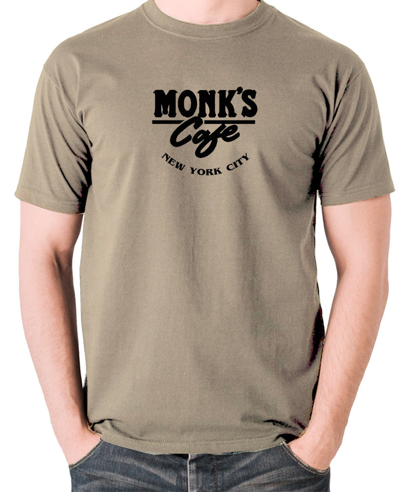 Seinfeld - Monk's Cafe - Men's T Shirt - khaki