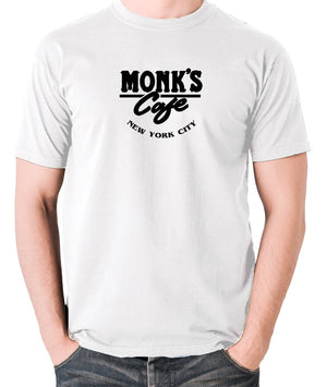 Seinfeld - Monk's Cafe - Men's T Shirt - white