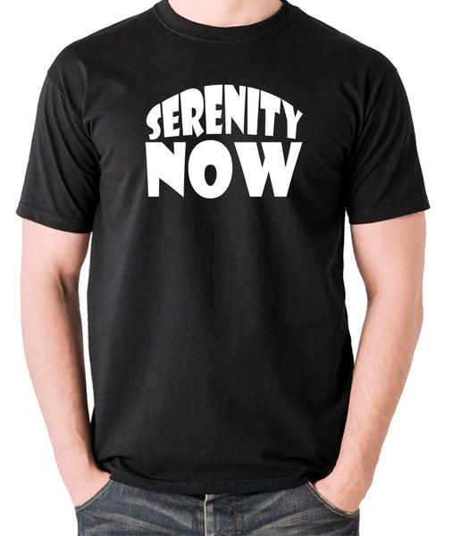 Seinfeld - George Costanza, Serenity Now - Men's T Shirt - black