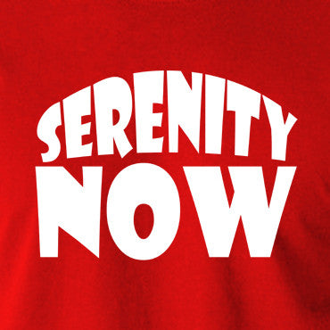 Seinfeld - George Costanza, Serenity Now - Men's T Shirt