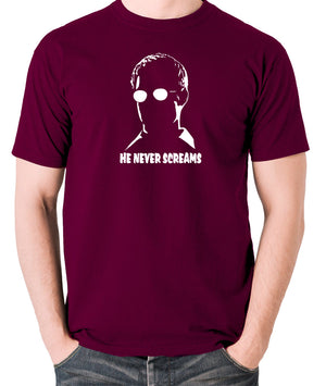 Sin City - Kevin He Never Screams - Men's T Shirt - burgundy