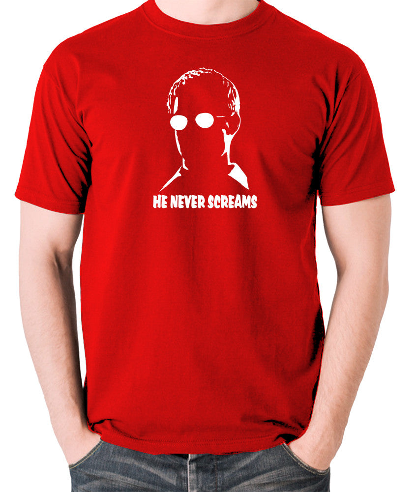 Sin City - Kevin He Never Screams - Men's T Shirt - red