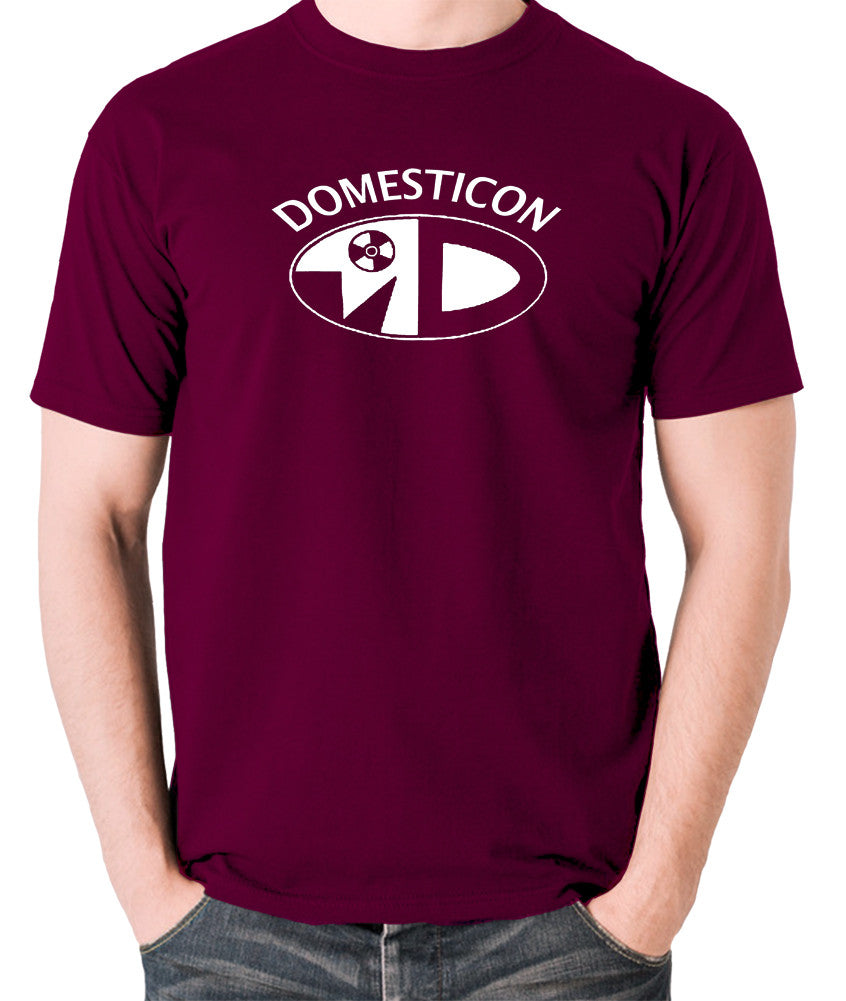 Sleeper - Domesticon - Men's T Shirt - burgundy