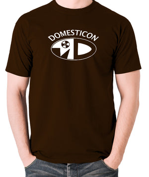 Sleeper - Domesticon - Men's T Shirt - chocolate