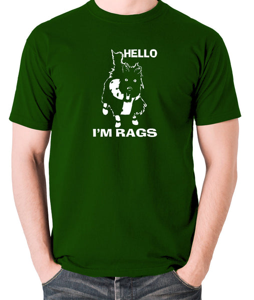 Sleeper - Hello I'm Rags - Men's T Shirt - green