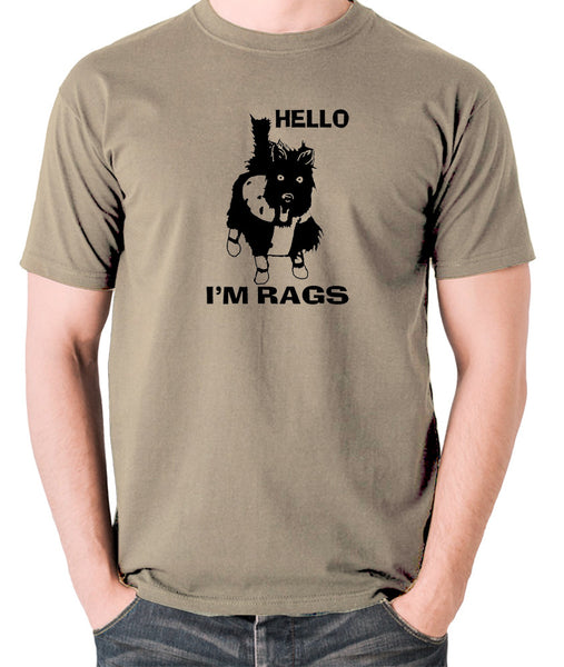 Sleeper - Hello I'm Rags - Men's T Shirt - khaki