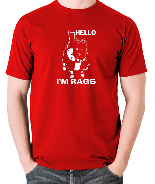 Sleeper - Hello I'm Rags - Men's T Shirt - red