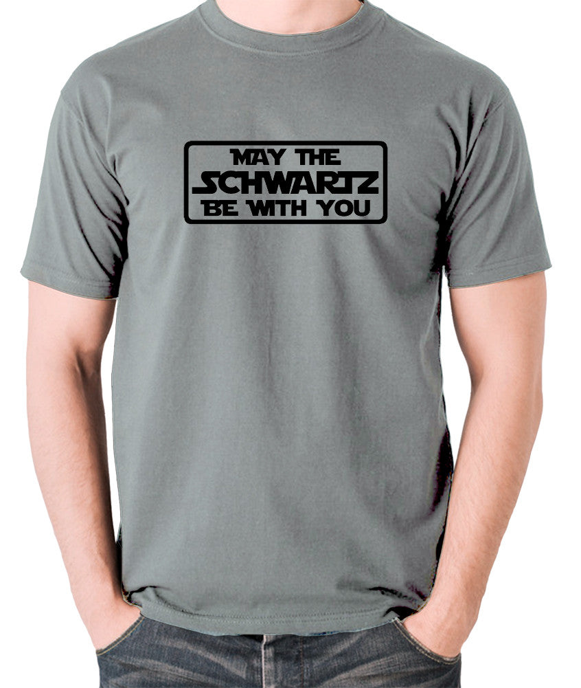 Spaceballs - May The Schwartz - Men's T Shirt - grey