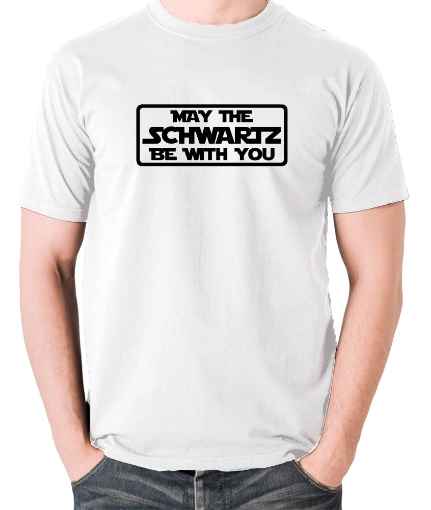 Spaceballs - May The Schwartz - Men's T Shirt - white