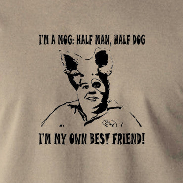 Spaceballs - Barf, I'm A Mog, Half Man Half Dog - Men's T Shirt