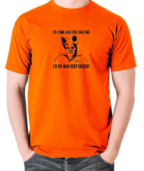 Spaceballs - Barf, I'm A Mog, Half Man Half Dog - Men's T Shirt - orange