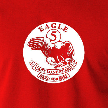 Spaceballs - Eagle 5, Cpt Lone Starr - Men's T Shirt