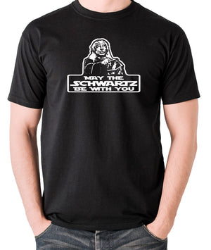 Spaceballs - Yogurt, May The Schwartz Be With You - Men's T Shirt - black