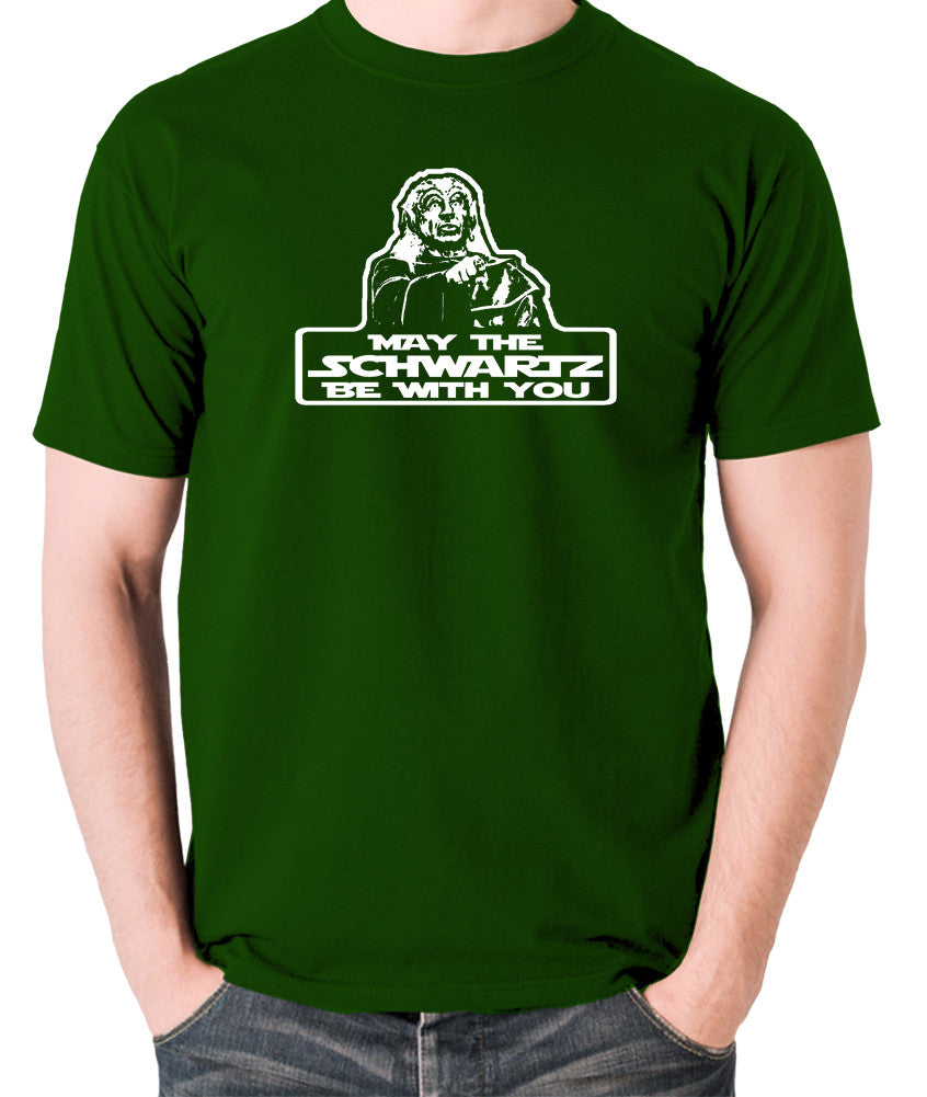 Spaceballs - Yogurt, May The Schwartz Be With You - Men's T Shirt - green