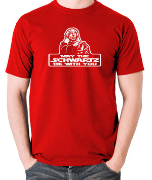 Spaceballs - Yogurt, May The Schwartz Be With You - Men's T Shirt - red