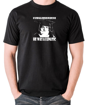Spike Milligan - My Father Had A Profound Influence On Me, He Was A Lunatic - Men's T Shirt - black