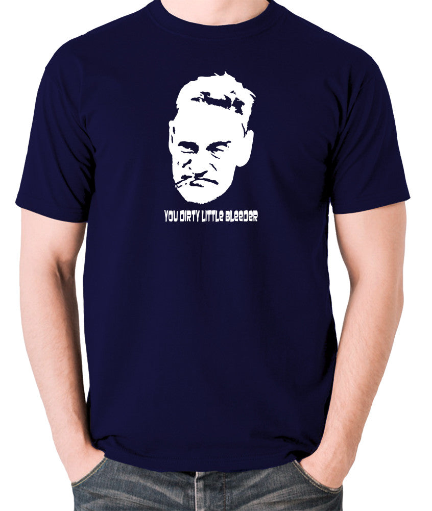 Steptoe And Son - Albert, You Dirty Little Bleeder - Men's T Shirt - navy