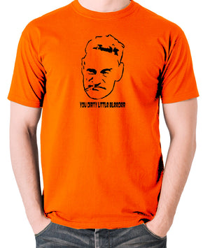 Steptoe And Son - Albert, You Dirty Little Bleeder - Men's T Shirt - orange