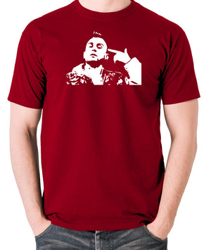 Taxi Driver - Travis Bickle - Men's T Shirt - brick red