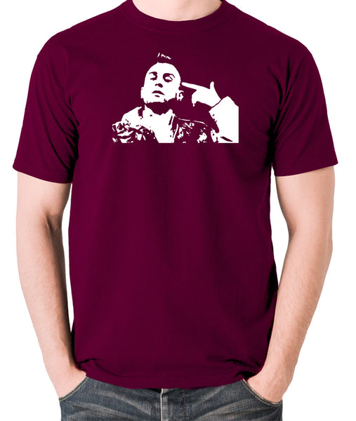 Taxi Driver - Travis Bickle - Men's T Shirt - burgundy