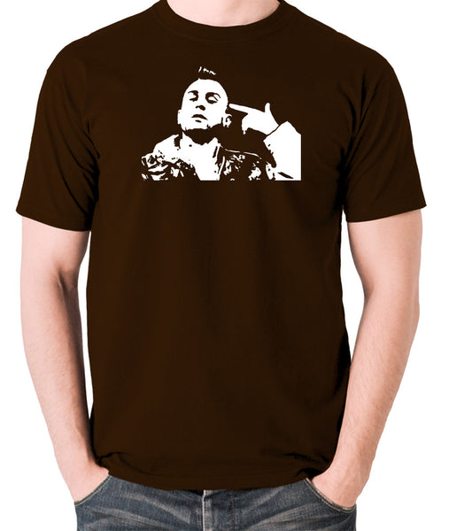 Taxi Driver - Travis Bickle - Men's T Shirt - chocolate