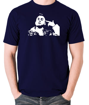 Taxi Driver - Travis Bickle - Men's T Shirt - navy