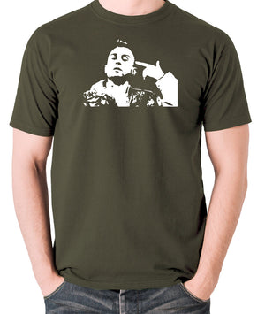 Taxi Driver - Travis Bickle - Men's T Shirt - olive