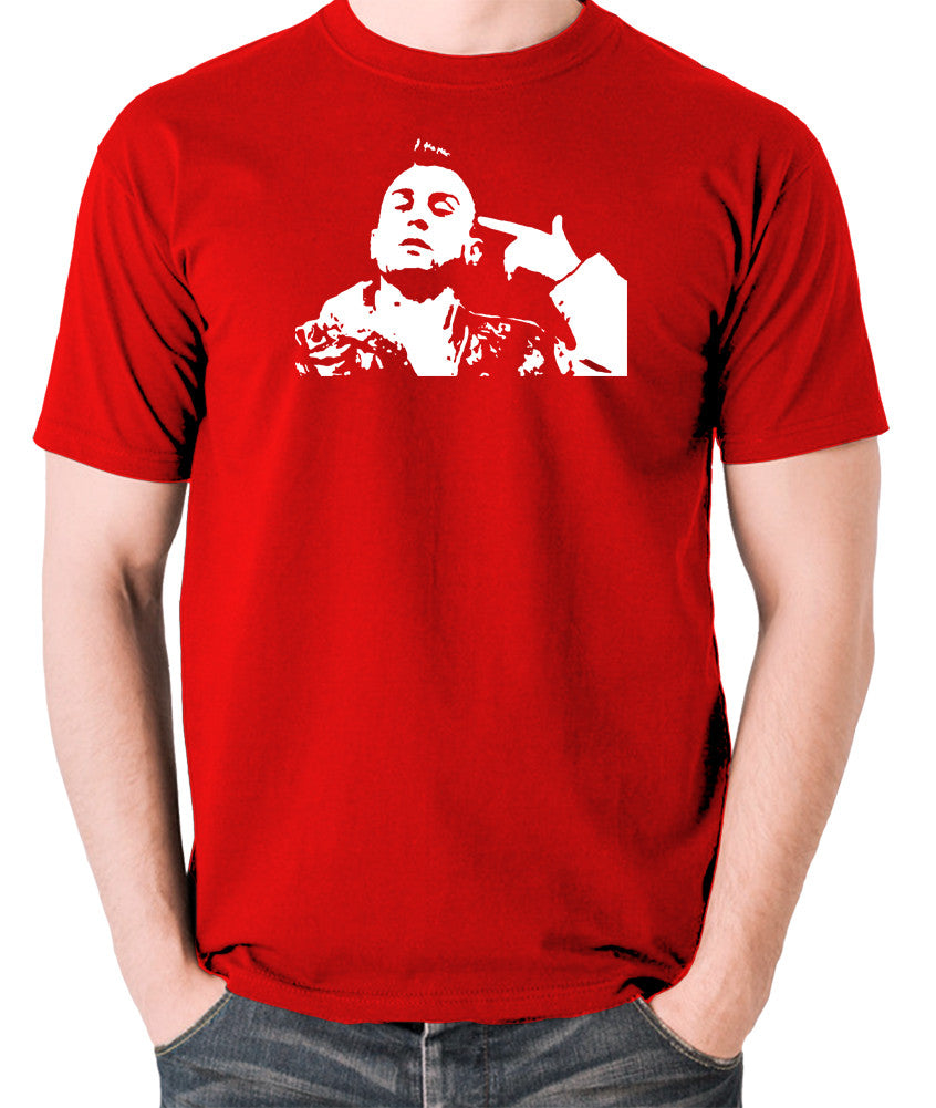 Taxi Driver - Travis Bickle - Men's T Shirt - red