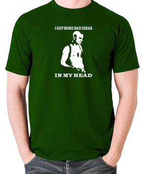 Taxi Driver - Travis Bickle, I Got Some Bad Ideas In My Head - Men's T Shirt - green