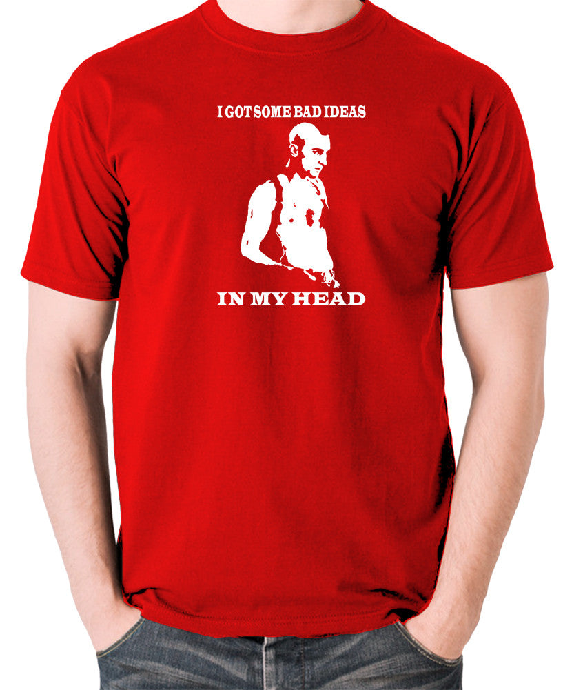 Taxi Driver - Travis Bickle, I Got Some Bad Ideas In My Head - Men's T Shirt - red