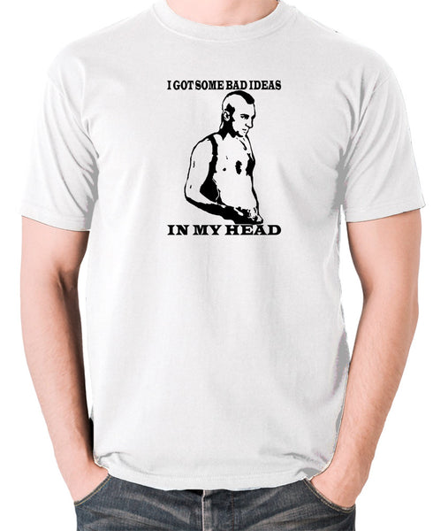 Taxi Driver - Travis Bickle, I Got Some Bad Ideas In My Head - Men's T Shirt - white