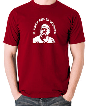 The Big Lebowski - I Don't Roll On Shabbos - Men's T Shirt - brick red