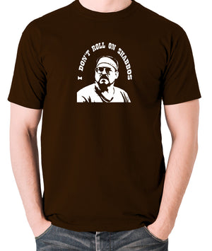 The Big Lebowski - I Don't Roll On Shabbos - Men's T Shirt - chocolate