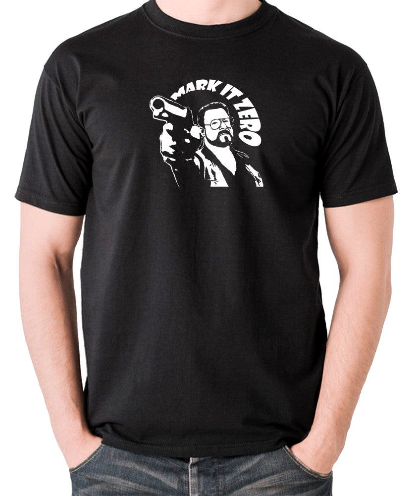 The Big Lebowski - Mark It Zero - Men's T Shirt - black