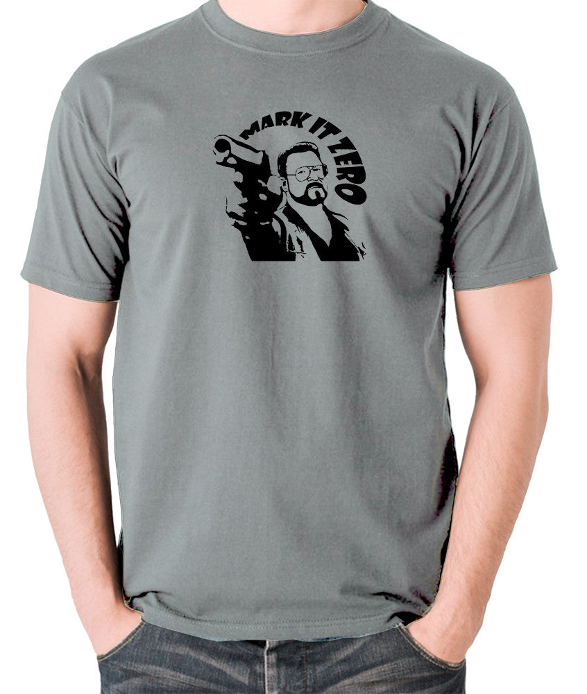 The Big Lebowski - Mark It Zero - Men's T Shirt - grey