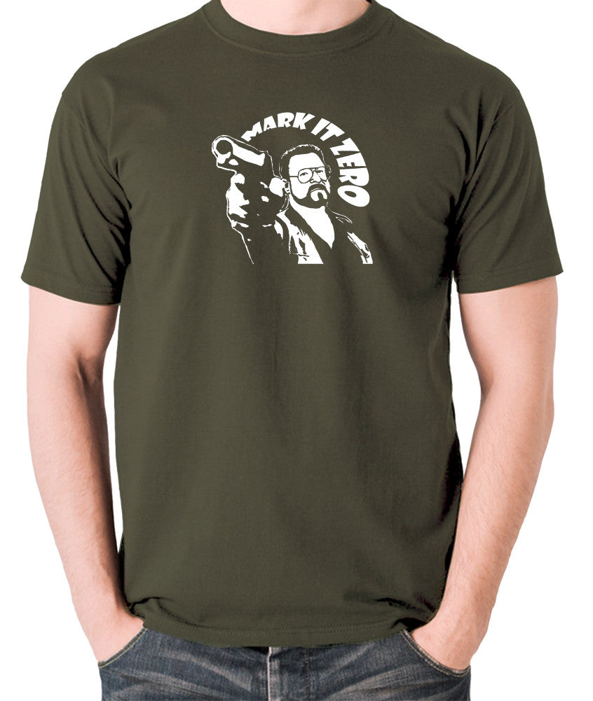 The Big Lebowski - Mark It Zero - Men's T Shirt - olive