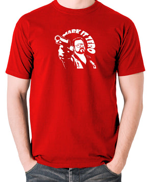 The Big Lebowski - Mark It Zero - Men's T Shirt - red