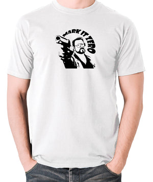 The Big Lebowski - Mark It Zero - Men's T Shirt - white