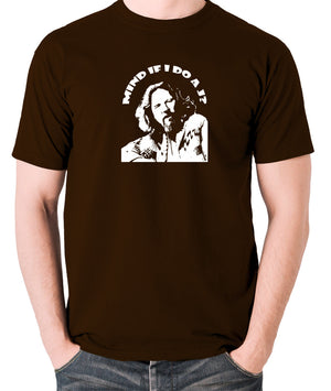 The Big Lebowski - Mind If I Do a J - Men's T Shirt - chocolate