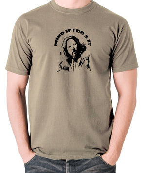The Big Lebowski - Mind If I Do a J - Men's T Shirt - khaki