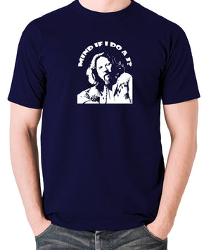 The Big Lebowski - Mind If I Do a J - Men's T Shirt - navy