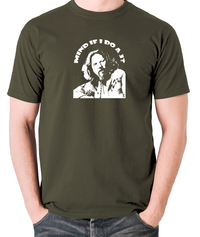 The Big Lebowski - Mind If I Do a J - Men's T Shirt - olive