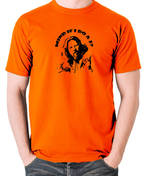 The Big Lebowski - Mind If I Do a J - Men's T Shirt - orange