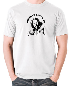 The Big Lebowski - Mind If I Do a J - Men's T Shirt - white