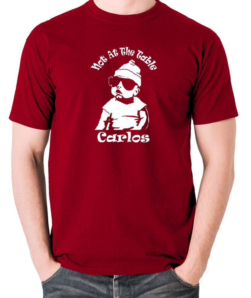 The Hangover - Not At The Table Carlos - Men's T Shirt - brick red
