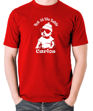 The Hangover - Not At The Table Carlos - Men's T Shirt - red