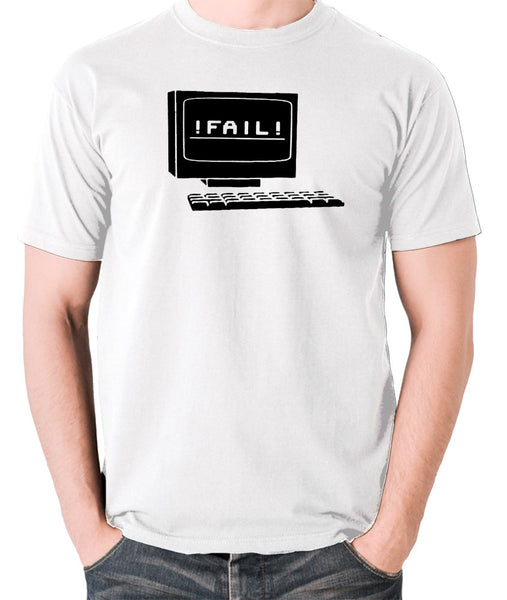 IT Crowd - Fail - Men's T Shirt - white